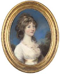 Portrait of Mrs Vyner, half-le