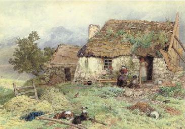 Crofter's cottage, Ardessie, S