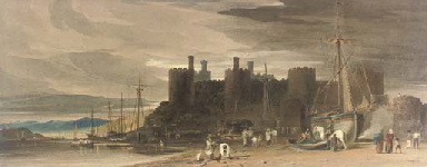 Conway Castle, Caernarvonshire