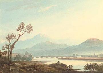View of Dolgellau, North Wales
