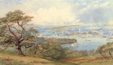 View of Devonport and Stonebri
