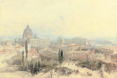 St Peter's from the Janiculum