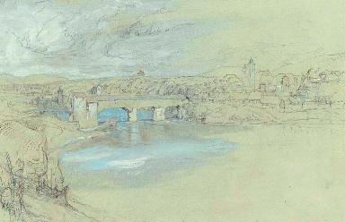 The bridge of Rheinfelden, Swi