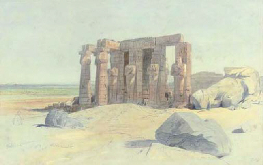 The Ramesseum, Thebes