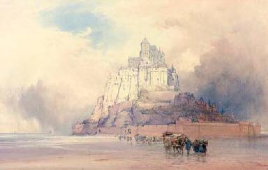 Mont St Michel, Normandy, Fran