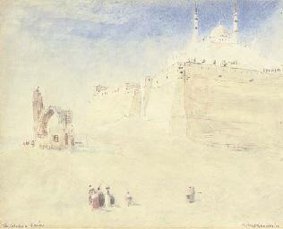 Below the Citadel, Cairo, Egyp