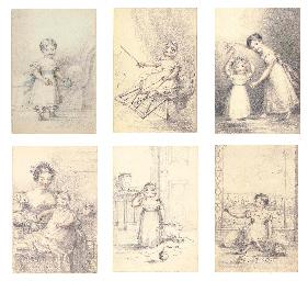 Twelve drawings of Queen Victo