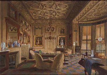 The Queen's sitting room, Buck
