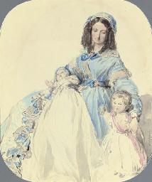 Study of Princess Clémentine,