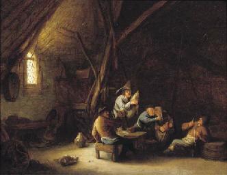 A barn interior with merry com