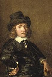 Portrait of a gentleman, half-