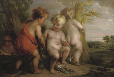 An Allegory of the Four Season