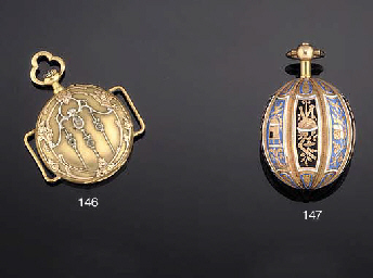 A LATE 19TH CENTURY FRENCH GOLD OPEN FACE FOBWATCH/WRISTWATC...