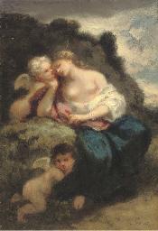 Vénus et deux amours