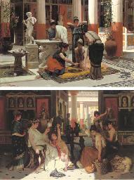 Pompeian interiors