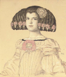 Portrait of Mary, the artist's
