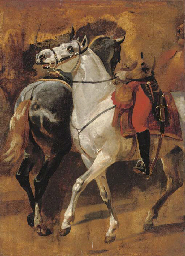 Study for the equestrian portr