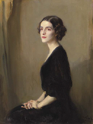 Portrait of Mrs Virginia Hecks