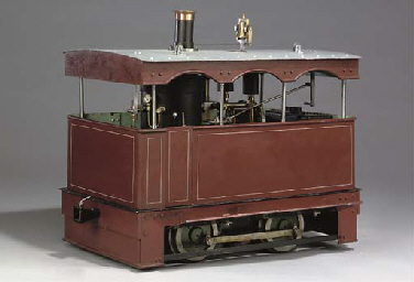 A rare ingenious 7¼in gauge model of A Wilkinson No 1 Class ...