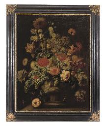 Parrot tulips, roses, peonies,