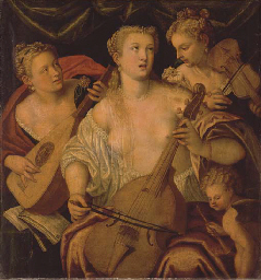 A musical allegory: three ladi