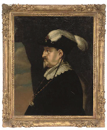 Portrait of King Christian IV