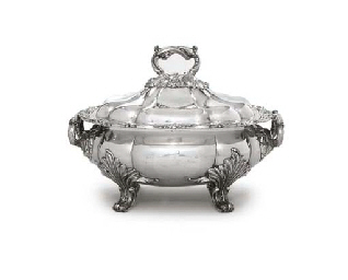 A GEORGE IV OLD SHEFFIELD PLAT
