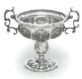 AN AUSTRO-HUNGARIAN SILVER CUP