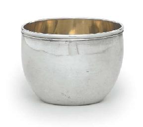 A GERMAN SILVER TUMBLER-CUP