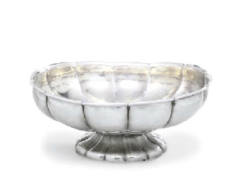 A RUSSIAN SILVER BOWL