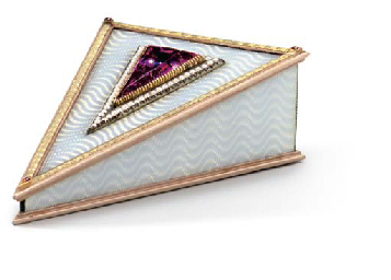A RUSSIAN JEWELLED GOLD AND GU