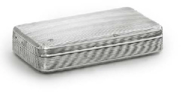A DUTCH SILVER TOBACCO-BOX