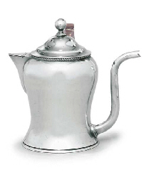 A SILVER-PLATED ARGYLL