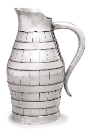 A FRENCH SILVER JUG