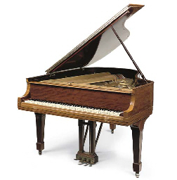 A MAHOGANY STEINWAY AND SONS B