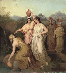 Classical maidens gathering wa