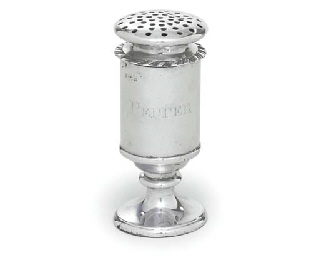 AN INDIAN COLONIAL SILVER PEPP