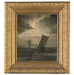 A sailing boat in a gathering