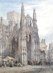 The Cathedral at Louviers, Nor