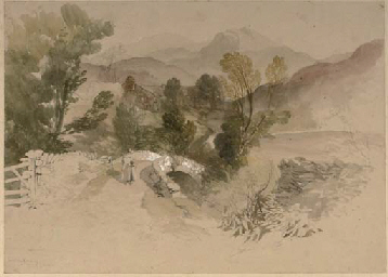 Sketch of a highland valley