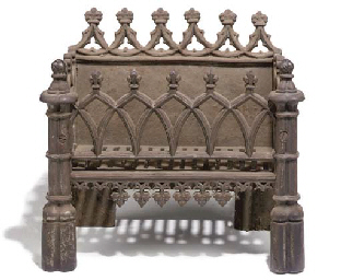 AN EARLY VICTORIAN CAST-IRON G