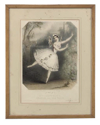 Carlotta Grisi in the ballets