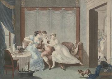 Le Départ; La Debauche; La Rui
