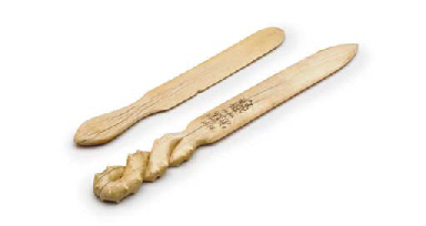 A pair of 19th century ivory oversize letter openers