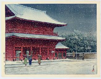 Zojoji no yuki (Snow at Zojoji
