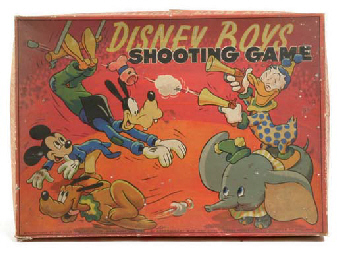 Walt Disney Games, UK - Chad Valley and others, 1950s