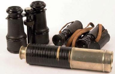 Telescope and binoculars