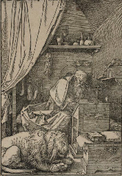 Saint Jerome in His Cell (B. 1
