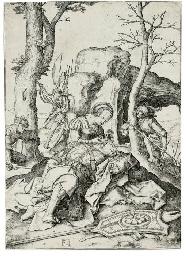 Samson and Dalilah (Bartsch, H