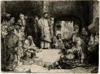 Christ preaching: 'La Petite T
